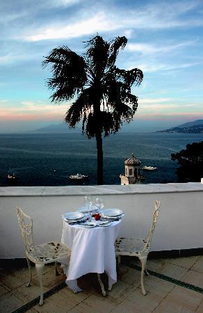 Luxury Villa Excelsior Parco: terrace