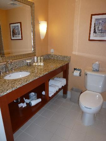 Crowne Plaza Dulles Airport Hotel: El baño con bañera