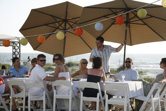 Sun N Fun Beachfront Vacation Rentals: wedding on the beach