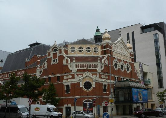 Grand Opera House: So ugly, it's almost cute