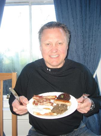 Aynetree Guest House: Scottish breakfast at the Aynetree!