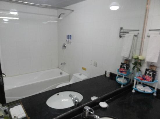 Mushitage Hotel : Bathroom