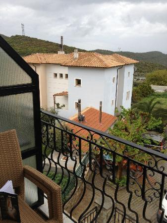 Defkalion Hotel: Balcony