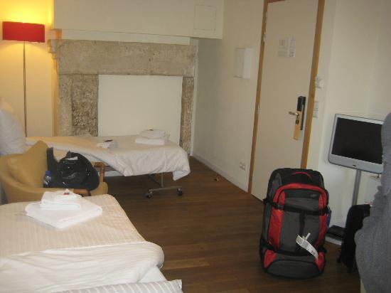 Hotel Parc Beaux-Arts Luxembourg : Les deux petits lits pour enfants