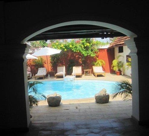Raheem Residency: View of the pool