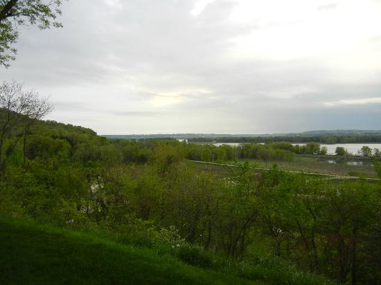 Goldmoor Inn: View from our deck
