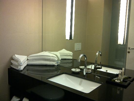 Penz Hotel West: Details im Badezimmer