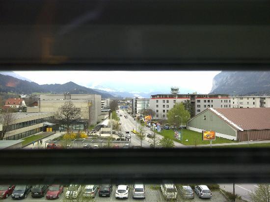 Penz Hotel West: Blick vom Fenster