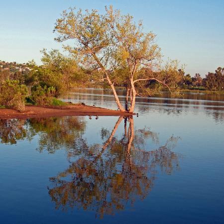 Lake Murray at Mission Trails Regional Park