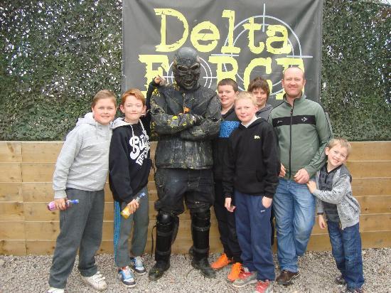 Delta Force Paintball Hemel Hempstead: Billy's 13th