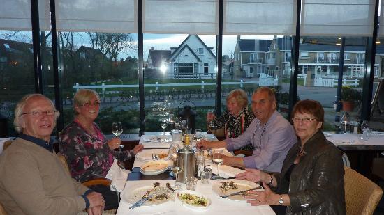 WestCord Hotel Noordsee: Héérlijk grandioos lekker gedineerd!