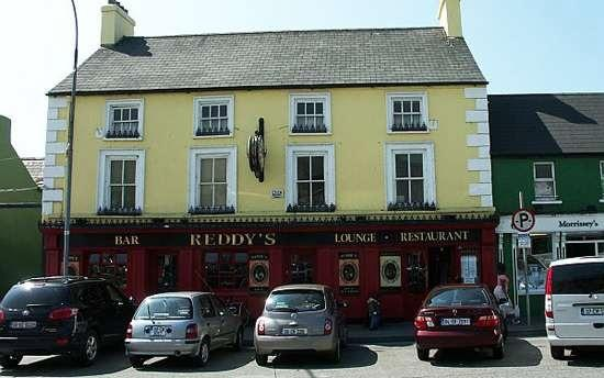 Reddy's of Carlow for great food and good craic