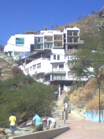 Hotel Bahia Taganga: esta es la nueva imagen del hotel y su acceso principal