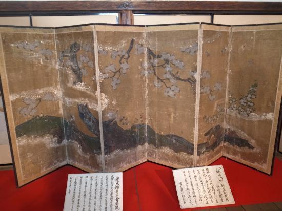Yoshimizu Shrine: 特別公開の屏風