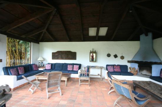 Quinta de las Flores: Outdoor commonroom