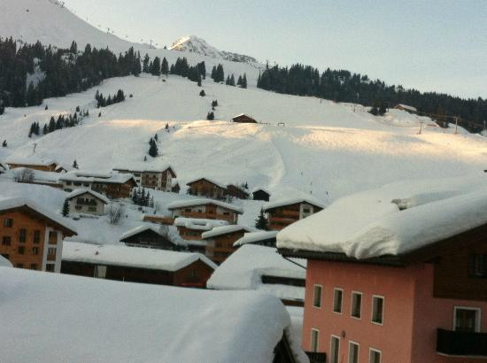 Hotel Gotthard : view from room