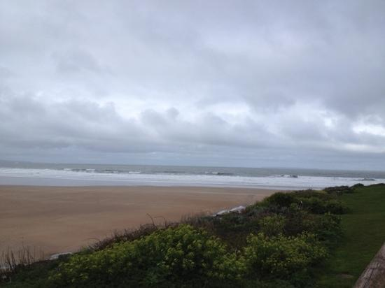 Woolacombe Beach: a blustery day at Woolacombe