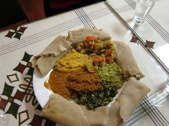 Best Ethiopian food in Denver by far - Review of Queen Of