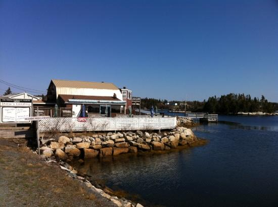 Shaw's Landing : great spot for lunch