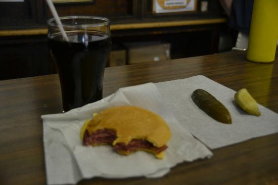 Wilensky's Light Lunch: Wilensky Special and Cherry Cola