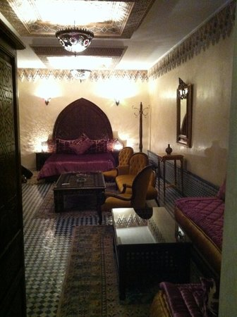 Riad El Yacout : Our suite on the second floor