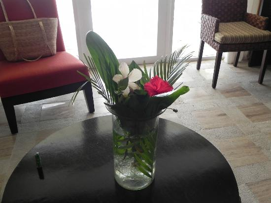 Presidente Inter-Continental Cozumel Resort & Spa: Daily fresh flowers