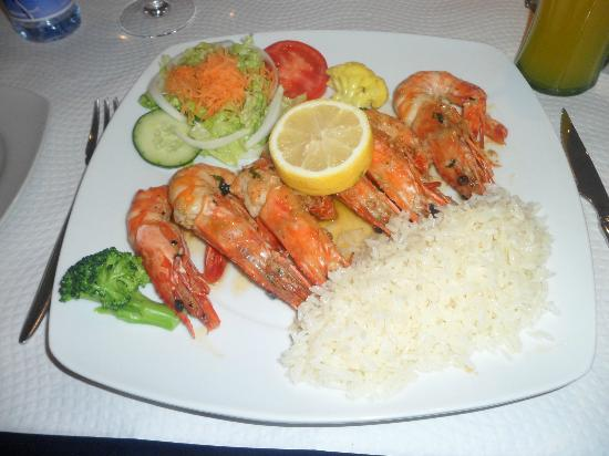 Dom Capito: Prawns and rice to die for