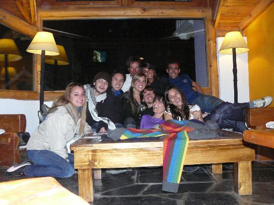 Bariloche Hostel: haciendo amigos