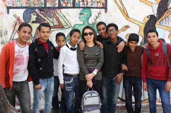 Liberation Square (Midan El-Tahreer): El Tahrir St Kids