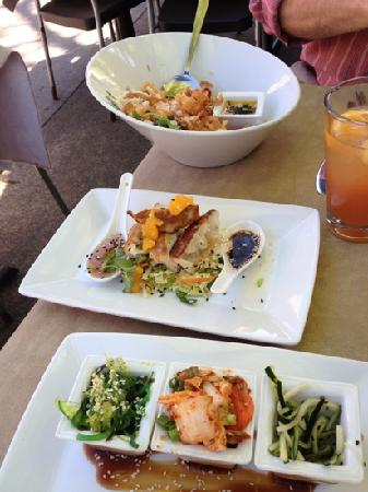 Sesame Asian Kitchen: our appetizer lunch