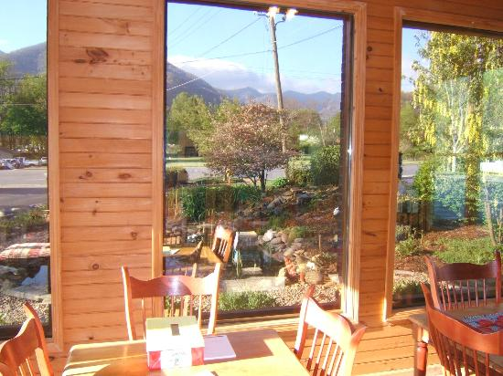 Jonathan Creek Inn and Villas: Mtn. View From Lobby
