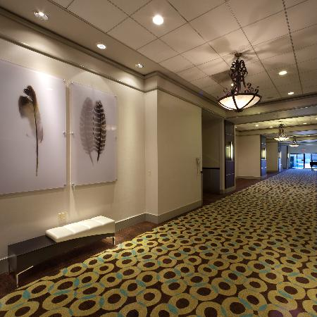 Radisson Hotel Whittier: Meeting Room Foyer