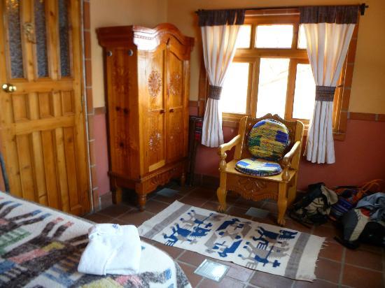 Hotel La Casa del Mundo: Room interior