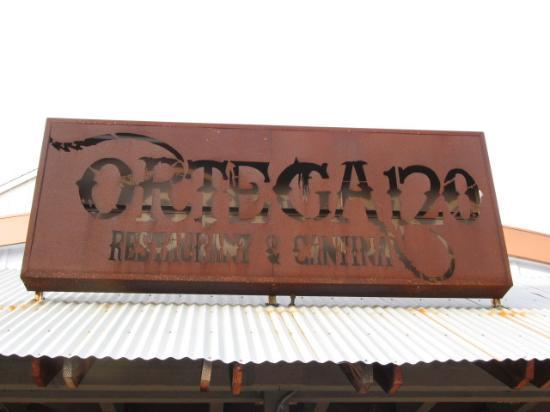 Ortega 120: Outdoor sign