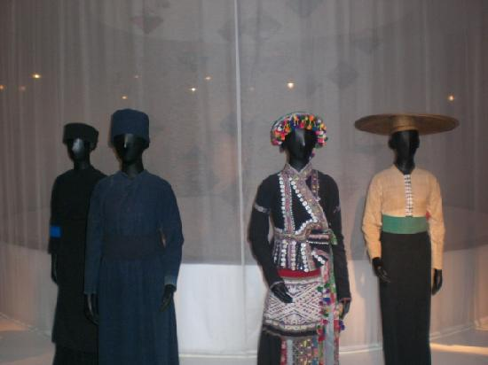 Vietnamese Women's Museum: Diverse forms of different tribes dress
