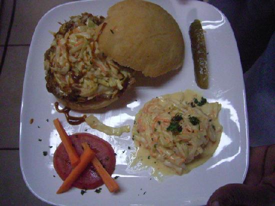 Flavors Cafe: Barbecue Pork Sandwich