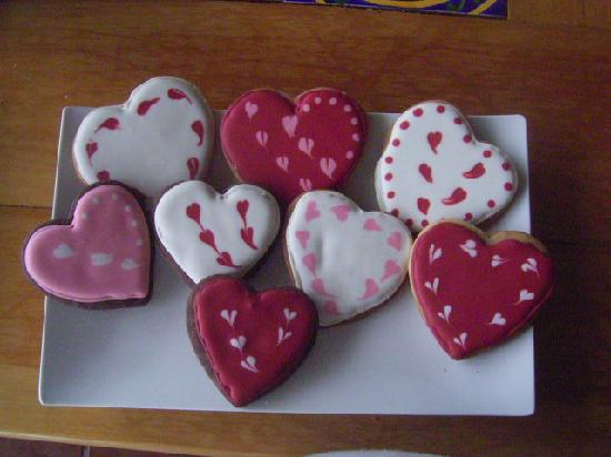 Flavors Cafe: Valentines Day Cookies