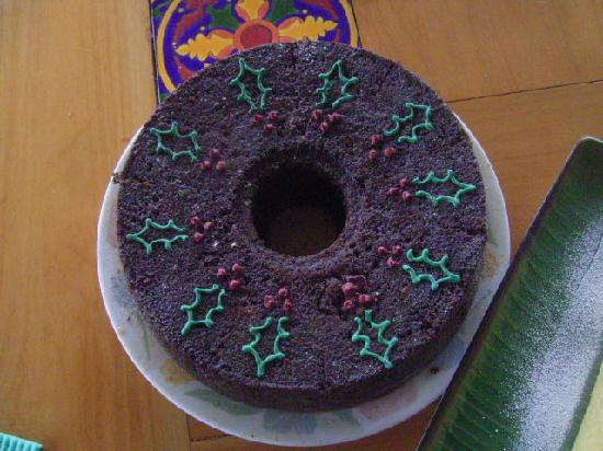 Flavors Cafe: Christmas Cinnamon Raisin Cake