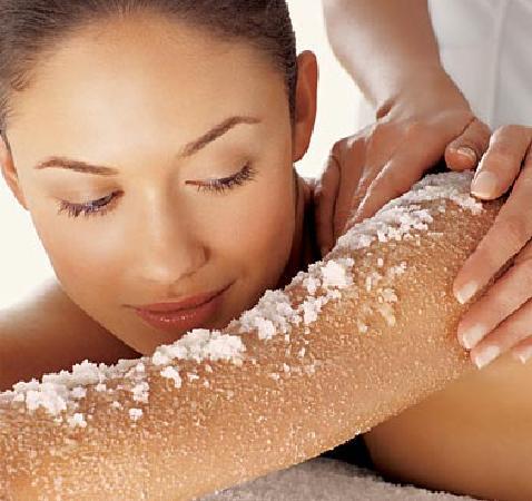 The Best Day Spa: Body Scrub & Skin Exfoliation