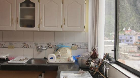 Mayra's Apartments and Spanish School : sweet kitchen