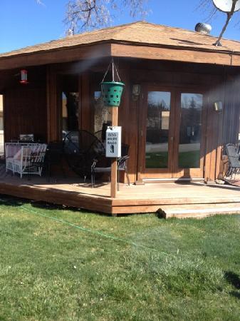 Elk Mountain Inn: the gazebo