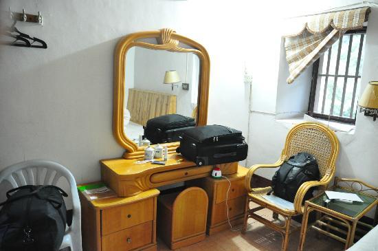 Tulou Fuyulou Changdi Inn: my big mirror