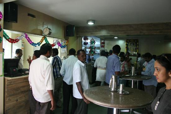 Sri Saravana Bhavan Elite: Interiors Of Saravana Bhavan Elite