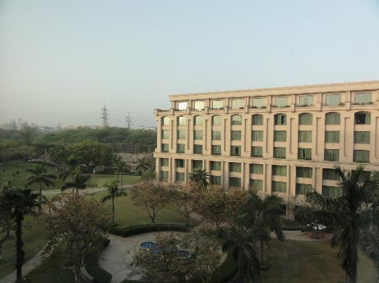 The Grand New Delhi : 部屋から