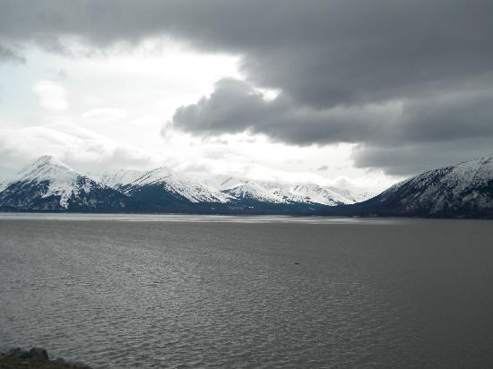 Girdwood, AK: Turnagain Arm along Old Seward Hwy
