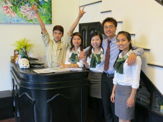 Jade Hotel: Such friendly staff
