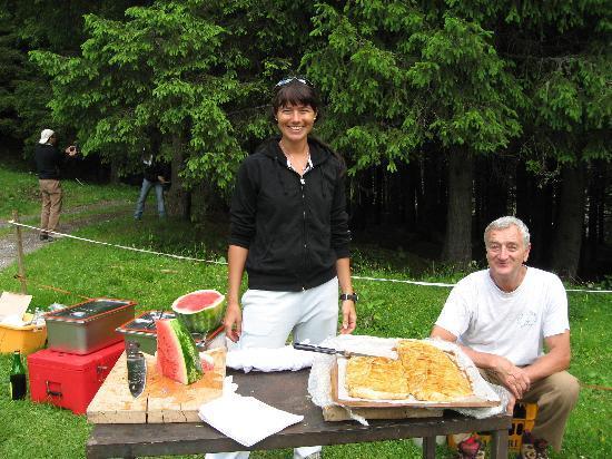Bellamonte, إيطاليا: polentata in val venegia