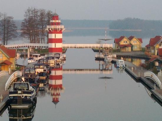 Maritim Hafenhotel Rheinsberg : Blick Seeseite