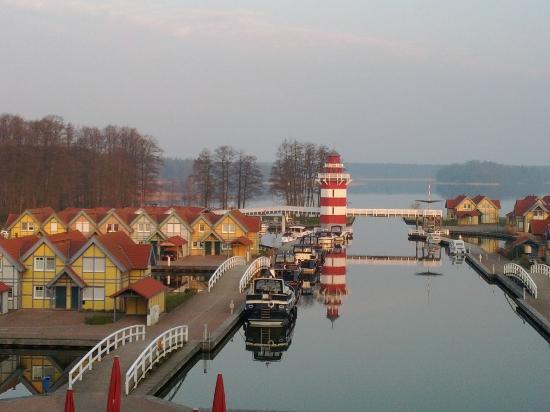 Maritim Hafenhotel Rheinsberg: Blick Seeseite