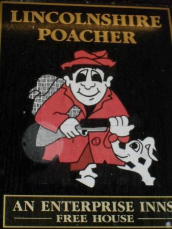 The Lincolnshire Poacher: Pub Sign